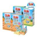 Dole 후룻팝 얼려먹는주스 파인애플2박스+오렌지2박스