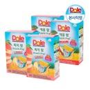 Dole 후룻팝 피치 2박스+애플 2박스 복숭아 사과 주스