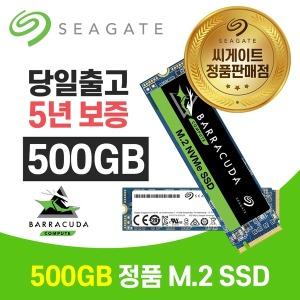 바라쿠다 510 M.2 NVMe SSD 500GB ZP500CM3A001