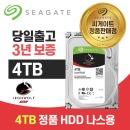Seagate 아이언울프 SATA3 4TB NAS용 하드디스크