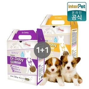 닥터도비말랑말랑 1.2KG 1+1/반건조사료/강아지사료
