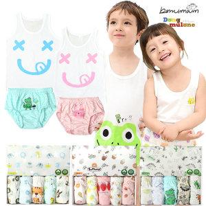 무형광 아동속옷 아동런닝 팬티 드로즈 모음전