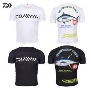 Daiwa 다이와 셔츠 낚시 의류 여름 짧은 소매