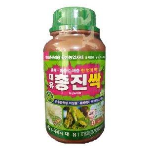 총진싹500ml 친환경유기농살충제 총채벌레 흡즙성해충