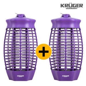 UV 해충 날벌레 모기퇴치기 크루거 KGK-828W 1+1 세트
