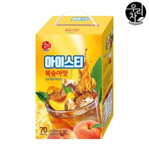 송원 복숭아 아이스티 70T