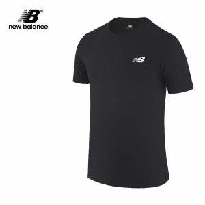 (현대Hmall)뉴발란스 헤더테크 반팔티 블랙 AMT01070-BK 티셔츠