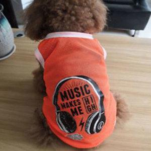 MOCO 강아지옷 헤드셋 티셔츠