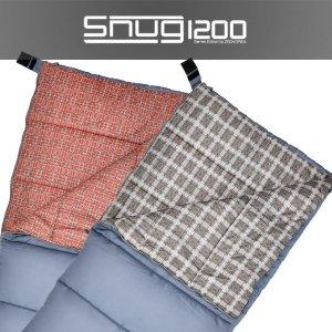 제드코리아 정품 침낭 스너그 1200/레드 /3계절용/차박