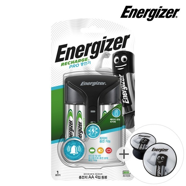 에너자이저 프로 충전기 +그립톡증정