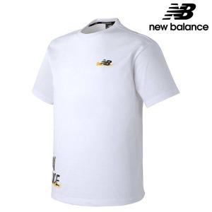 뉴발란스 NBNE922073-WH 공용 캠페인팩 드로잉 티셔츠 티셔츠