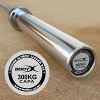 (현대Hmall) 바디엑스 고강도 크롬 중량봉 올림픽바 - 중량봉 2200 mm (BSOS)