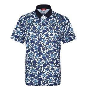 팬텀  모다아울렛 여름 남성 프루티 패턴 FG 반팔 카라 티셔츠 / 21102TO026_