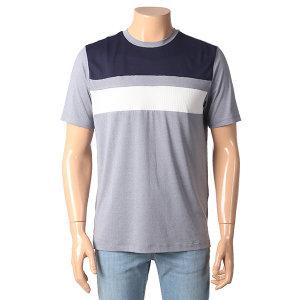 남성 상단블럭 쿨 티셔츠 FHNMCTR108