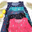 여성 B냉감 캐릭터 민소매원피스 마약잠옷 여름잠옷