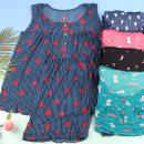 여성 B냉감 캐릭터 민소매상하세트 마약잠옷 여름잠옷