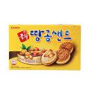 국희땅콩샌드(12봉입) 1곽 쿠키 과자 간식