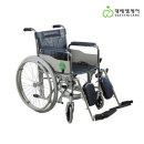 정형외과 거상형 스틸 수동 휠체어 P1004
