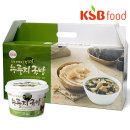 국산쌀/KSB즉석 누룽지 미역국밥세트(465g(77.5g6입))