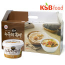 국산쌀/KSB즉석 누룽지 황태국밥세트(480g(80g6입))