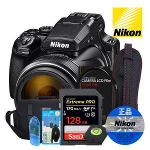 정품 쿨픽스 P1000 + 128G 디지털 카메라 7종 패키지