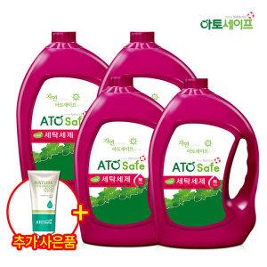 세탁세제 중성 액체 드럼/일반겸용 3.1L X 4개 + 증정
