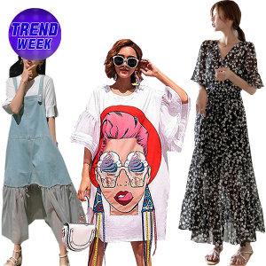 패션라인  22%쿠폰 여름신상 블라우스/원피스/티셔츠
