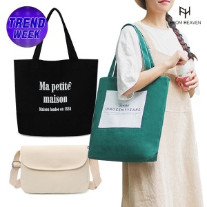 데일리 에코백/캔버스백/크로스백/천가방/보조가방