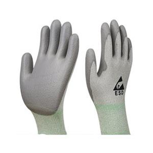 PU 구리 항균장갑 팜코팅 1켤레 손바닥코팅 회색