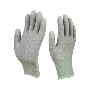 PU 구리 항균장갑 탑코팅 1켤레 손끝코팅 회색