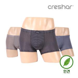 남자/남성/속옷/팬티/드로즈/사각/인견 크레샤르 3102
