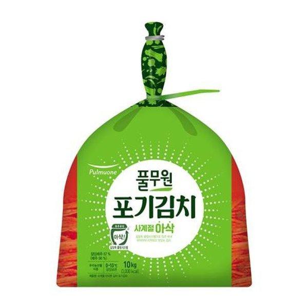 사계절 아삭 포기김치 10kg