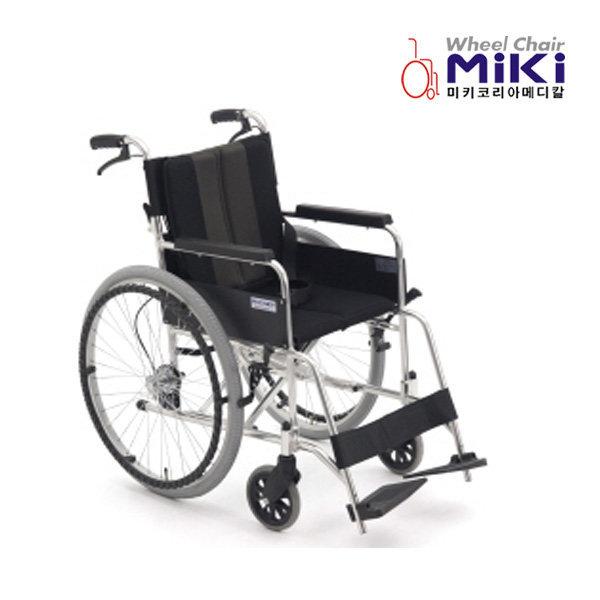 미키코리아 알루미늄 휠체어 SKY-2 원터치소프트시트