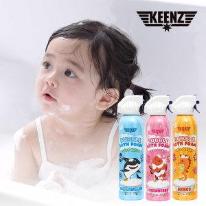 버블폼 유아 샴푸 바디워시 아기 거품목욕놀이 3종세트