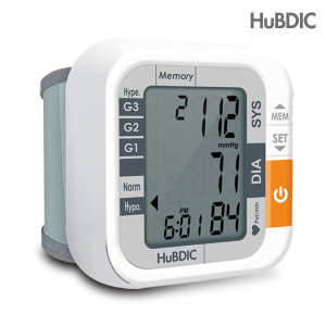 혈압측정기 1휴비딕 손목 자동 전자 혈압계 HBP-550