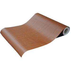 (홈시트24) 홈시트24 접착식 럭셔리무늬목시트지 우드시트지 TW-205 체리무늬목 (폭)50m x (길이) 50cm