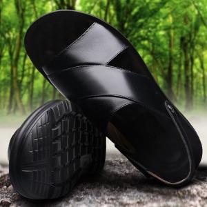 여름 남성남자 샌들 아쿠아슈즈 신발 가죽 크록스