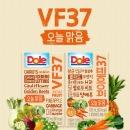 Dole VF37 오늘맑음 100% 과채즙 야채 주스 120ml 32팩