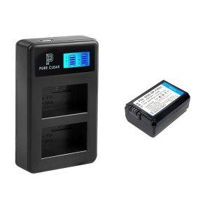 소니 NP-FW50 2구 LCD 호환충전기1+호환배터리1 세트