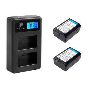 소니 NP-FW50 2구 LCD 호환충전기1+호환배터리2 세트