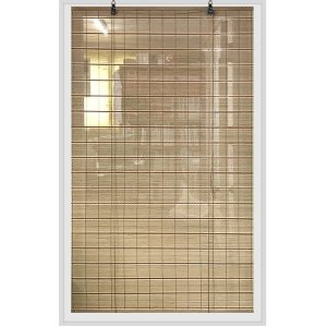 포인트브라운 대나무발 120x150cm/현관문발 자동발