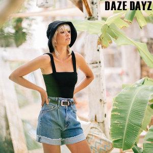 (데이즈데이즈) DAZE DAYZ NOIR CROP TOP (D9M246)