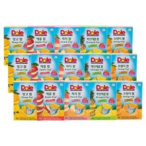 DOLE 돌후룻팝120팩(피치24팩+애플24팩+오렌지24팩+