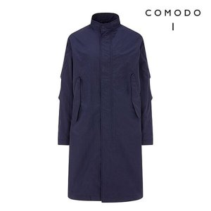 코모도(남성)   하프클럽/COMODO 코모도 하이넥 스트링 야상 점퍼