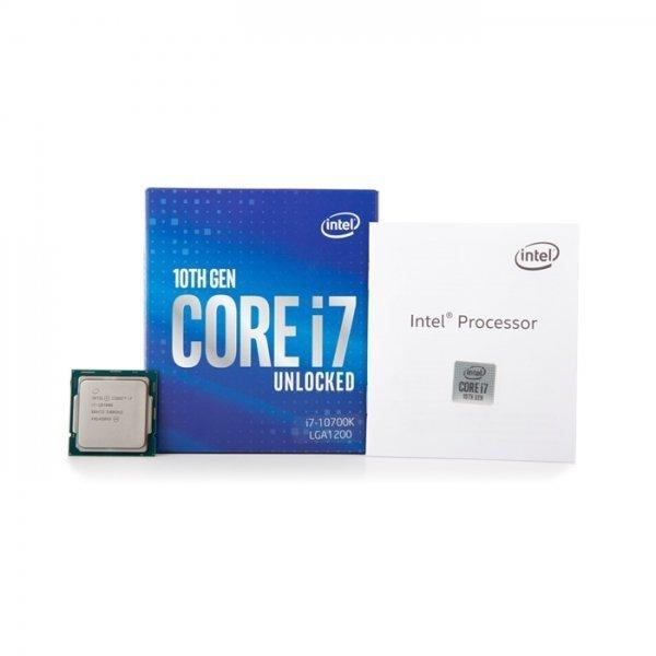 다와시스/ 인텔 코어i7-10세대 10700K (코멧레이크S) (정품) /네트웍/케이블