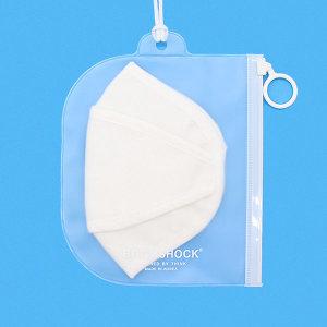 항균 마스크 보관팩 지퍼백 마스크 보관 케이스 x3+1