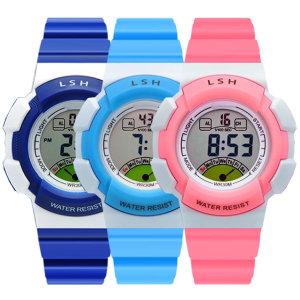 어린이 방수전자시계 손목시계 MIN-8540061(방수)