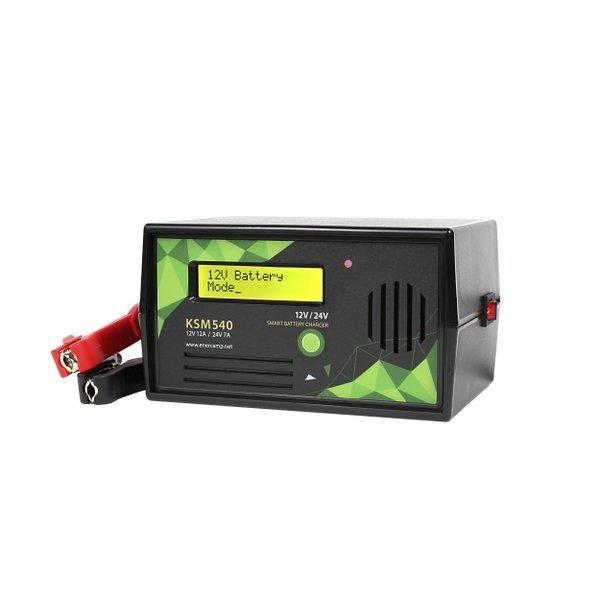 에너캠프 KSM540 자동차 스마트 배터리충전기