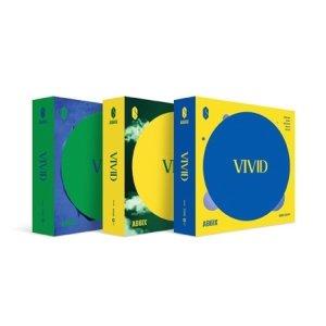 에이비식스(AB6IX) 합본(3종버전)/ VIVID:미니앨범 2집(3종버전+3종포스터+지관/VDCD6812)