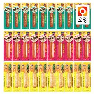 불고기맛후랑크10개+톡소시지10개+오륙도맛바10개
